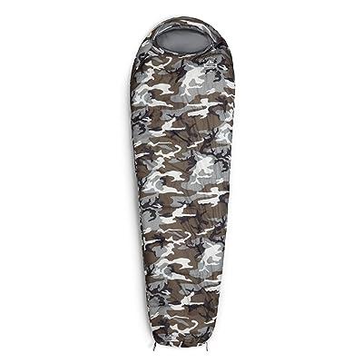 Lumaland Outdoor Sac de couchage, ca. 230 x 80 cm, inclusif sac à dos, ca. 50 x 25 cm bagage, différentes couleurs