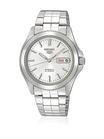 Seiko Reloj Analógico Automático para Hombre con Correa de Acero Inoxidable - SNKK87K1: Amazon.es: Relojes