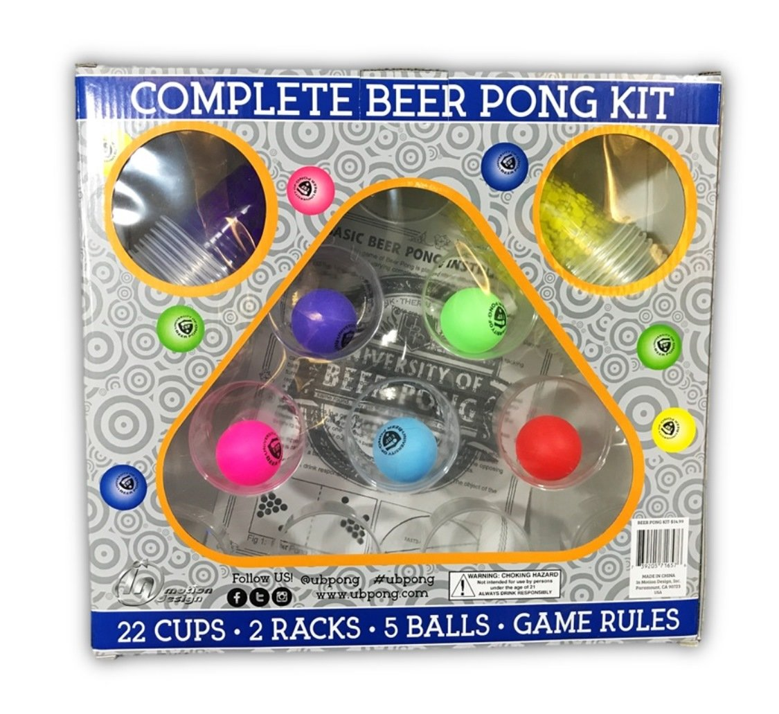 The University of Beer Pong Kit by University of Beer Pong