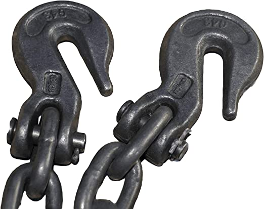 black 1750Kg capacity Tools House TH0261 4 metres towing chain
