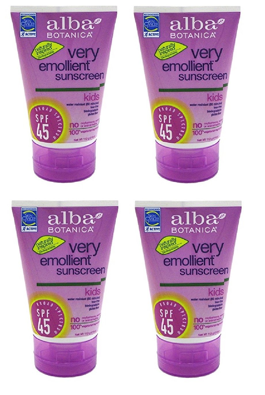 lovely Alba Botanica Very Emollient Mineral Spray Sunscreen SPF 35 ...