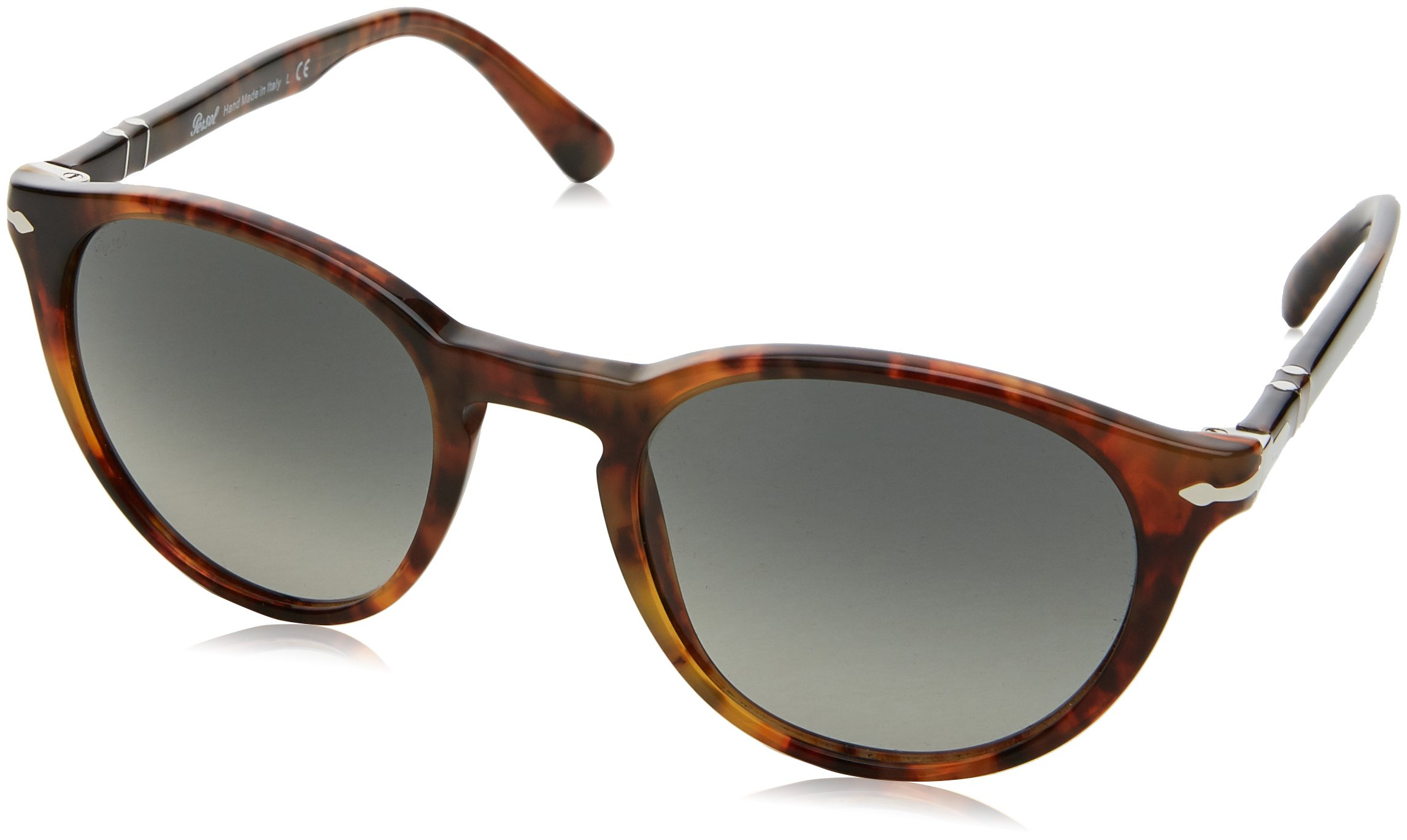 f9bf79a6e0 Persol Men s PO3152S Sunglasses Caffe  Gradient Grey 52mm