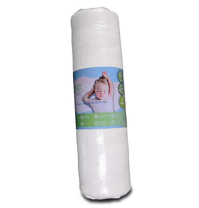 Colchón infantil de 140 x 70 de Biocare, 360 °, espuma ecológica ...