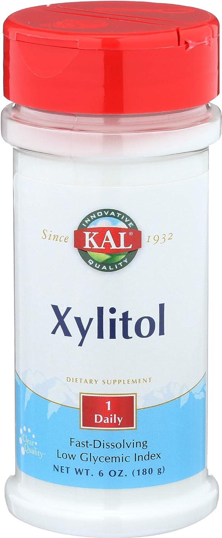 KAL Xylitol Powder, 6 Ounce