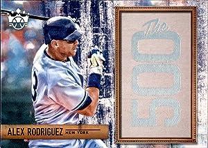 2018 Diamond Kings The 500#2 Alex Rodriguez NEW YORK YANKEES guest star Shark Tank (Box223JLa) MLB Baseball Trading Card