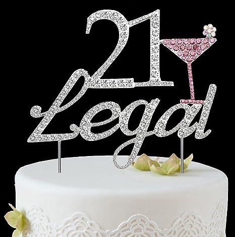 Amazon.com: Babeyond - Adorno para tarta de cumpleaños ...