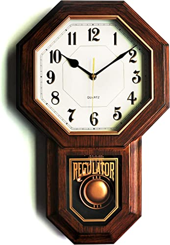 Classic Antique Mini Pendulum Wall Clock