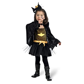 Bad Girl Superhero Costume Girls 3 Piece Batman Fan Costume - 3 Jahre  sc 1 st  Amazon UK & Bad Girl Superhero Costume Girls 3 Piece Batman Fan Costume - 3 ...
