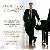 BRAHMS: PIANO CONCERTOS, TWO RHAPSODIES, OP. 79, INTERMEZZOS, OP. 117 & OP. 119