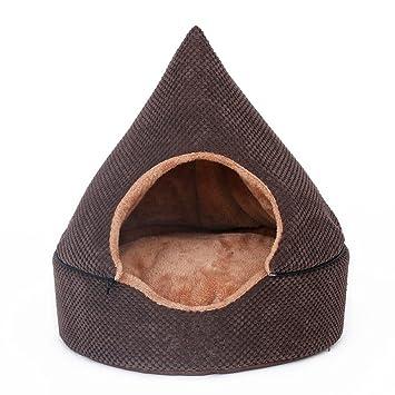 Caseta Desmontable Yurts cálido invierno Teddy Mini perro de mascota casa: Amazon.es: Hogar