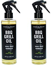 Caron & Doucet - BBQ Grill Cleaner Spray Concentrate - 100% Plant Based, Non-Toxic & Food Safe, Great for Stainless Steel & Cast Iron - BBQ Gift Idea for Dad
