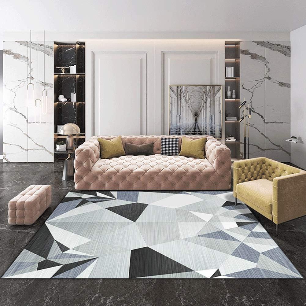 QUD Multicolor Glamour Collection Non-Slip Moroccan Trellis Design Runner Rug Home Decor 7/13 (Color : V, Size : 160CMX230CM)