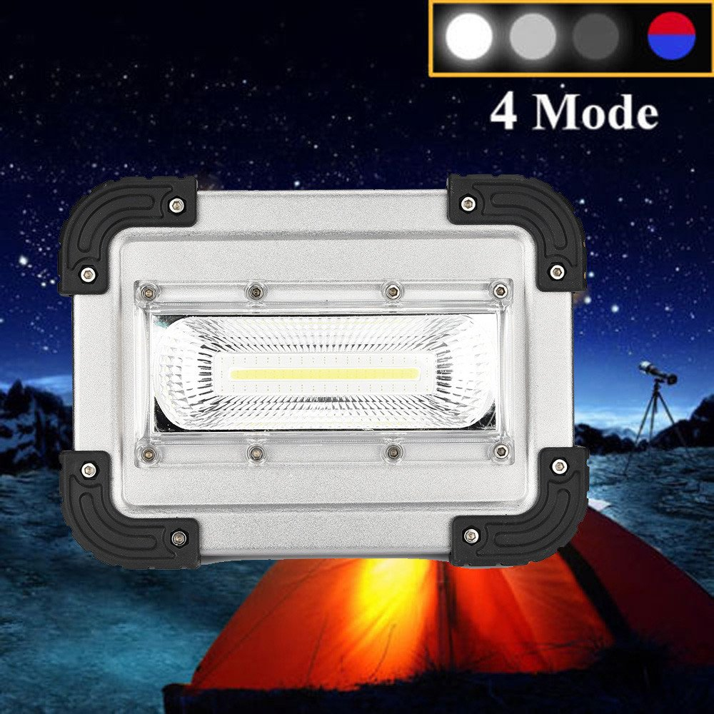 30W USB COB LED Portable Rechargeable Flood Light Spot Work Camping Outdoor Lamp by Dressffe by Dressffe (Image #7)