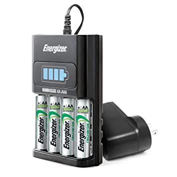 Batteries For Less >> Amazon Com Energizer Aa Aaa 1 Hour Charger With 4 Aa Nimh