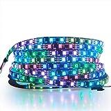 ALITOVE RGB Addressable LED Strip WS2811 12V LED Strip Lights 16.4ft 300 LEDs Dream Color Programmable Digital Flexible…