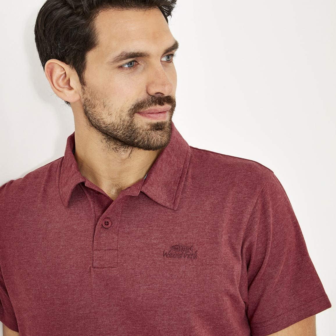 Weird Fish Mens Quay Short Sleeve Polo Shirt