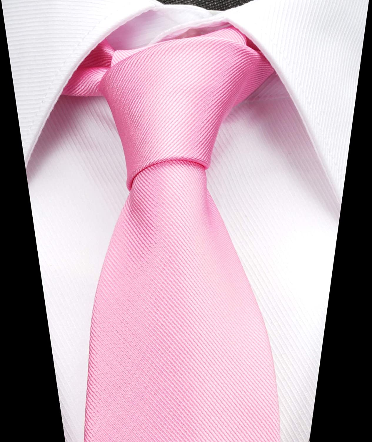 Solid Color Boys Tie Children and Teens Skinny Necktie 2.5 inches