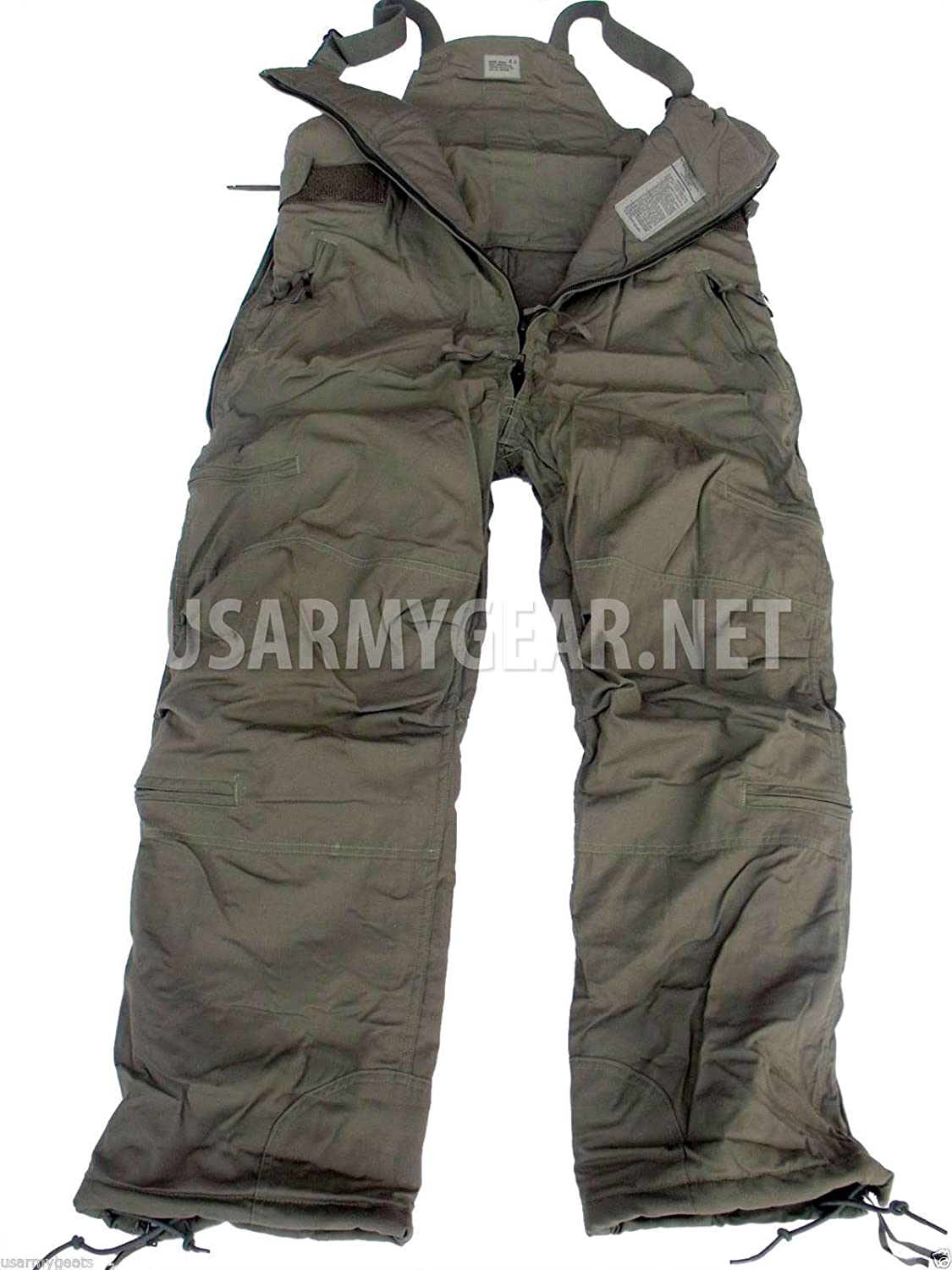 Very Warm Thick Us Army Military Insulated Pants Overalls Small Short S/S