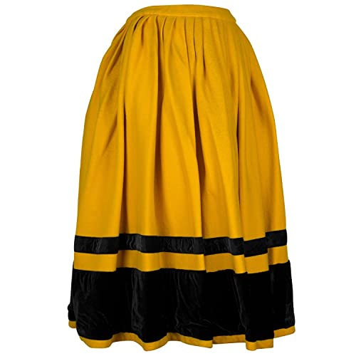 nuevo estilo ccca2 6d902 Falda regional, típica tradicional. Mod. Os Dezas.: Amazon ...