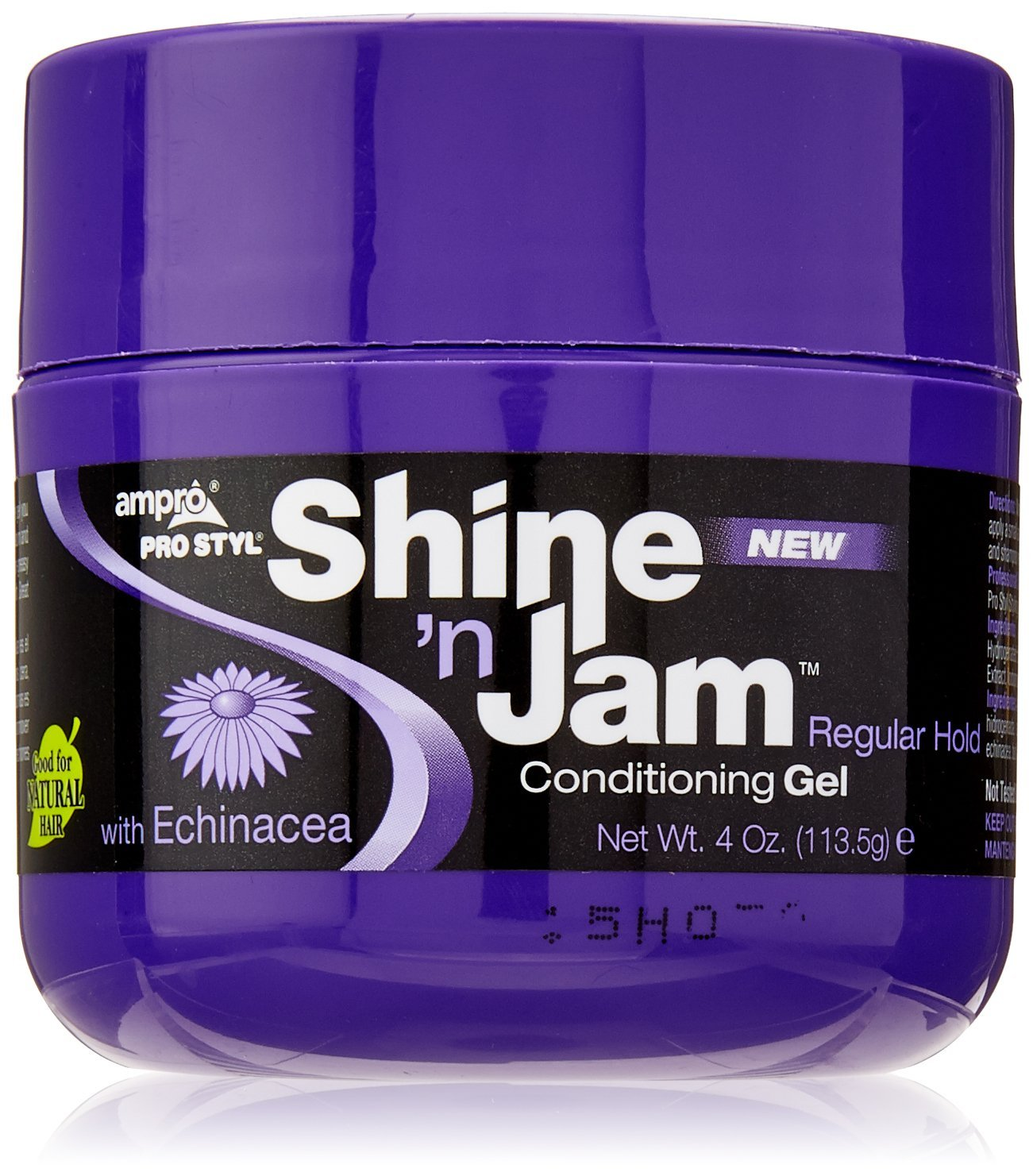 AmPro Shine 'n Jam Gel Regular Hold, 4 Ounce