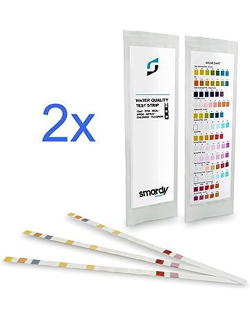 smardy® 6x PROFESIONAL de la prueba del agua 13 Pruebas ES 1 impelida Hierro/