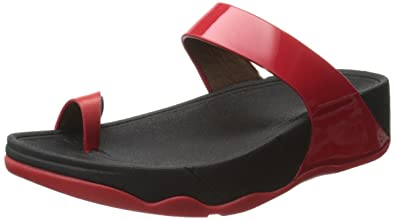 935c9eab53e9db Fitflop Sho Toe Loop Sandals In Red RED 9  Amazon.co.uk  Shoes   Bags