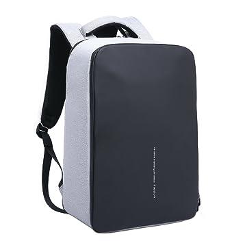 978b12e4d4 Fresion Sac à Dos pour Ordinateur Portable étanche Sac à Dos Antivol avec  Chargeur USB pour