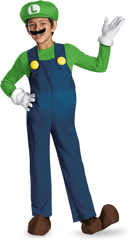 Nintendo - Disfraz infantil luigi (67822K): Amazon.es: Juguetes y ...