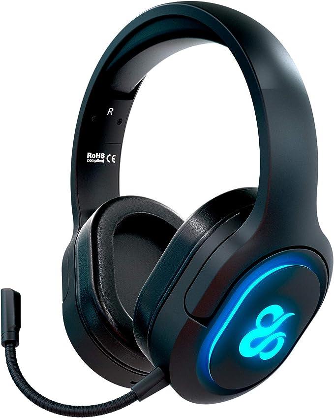 Newskill Scylla - Auriculares Gaming Inalámbricos con Micrófono ...