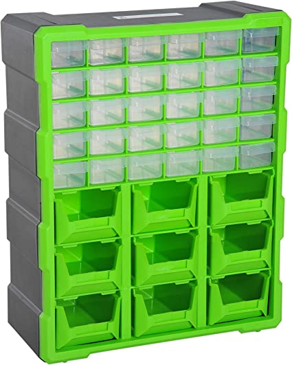 Cassettiere Metalliche Per Officina Prezzi.Durhand Cassettiera Box Porta Minuteria Per Officina Con 30