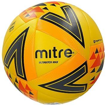 Mitre Ultimatch MAX Balón de Fútbol de Partido 3b2bb6eabe4b2