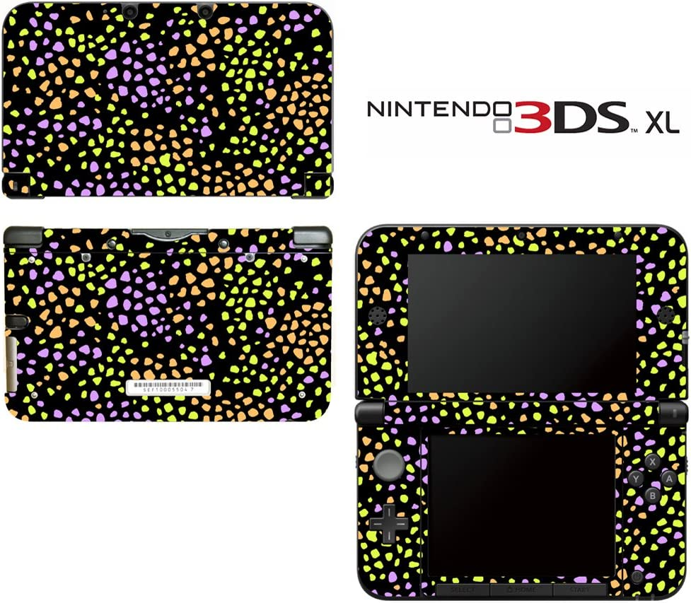 Hot Leopard Pattern Decorative Video Game Decal Cover Skin Protector for Nintendo 3DS XL