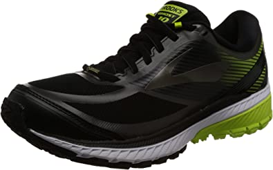 Brooks Ghost 10 GTX, Zapatillas de Running para Hombre, Negro (Blackebonylimepopsicle 1d078), 42 EU: Amazon.es: Zapatos y complementos