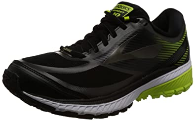3660be94dfc01 Brooks Men s Ghost 10 GTX¿ Black Ebony Lime Popsicle 10 ...
