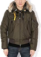 Parajumpers Gobi Men's Bomber Parka With Fur-Lined Hood