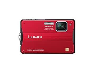 Panasonic Lumix FT10 14 1MP Digital Camera - Red (2 7 inch TFT Display, HD  Movie Recording, Rugged Design)