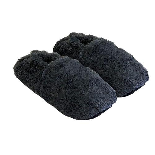 Körner-Sox Zapatillas térmicas Pantuflas de Granos para el microondas y el Horno