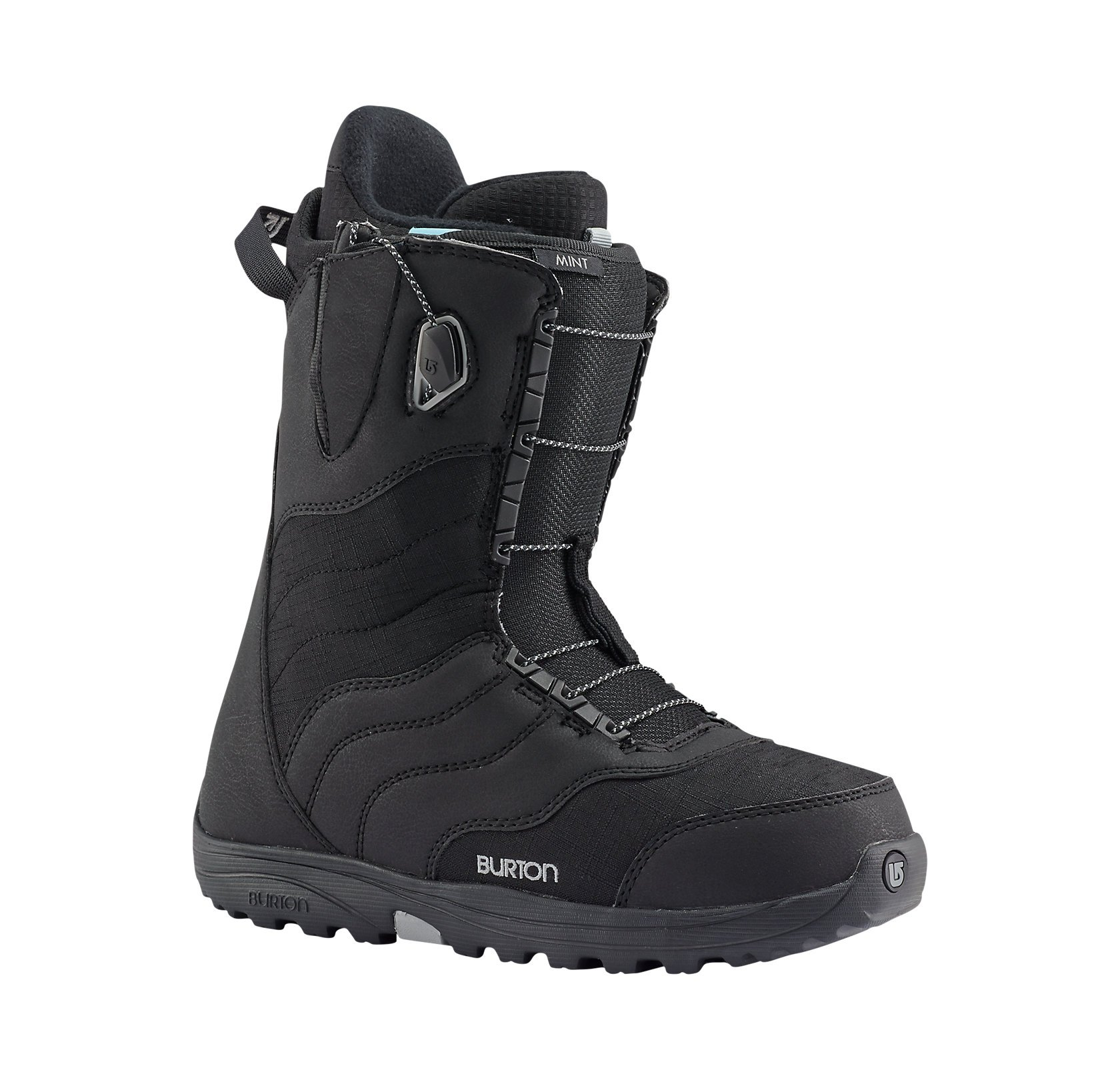 Burton Mint Snowboard Boot 2016 - Womens Black 6 by Burton