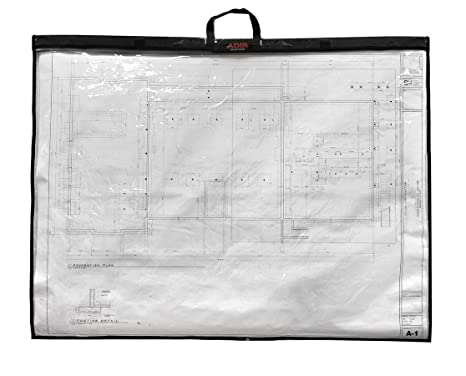 Amazon adir corp ps1836 foldable waterproof plans shield ps1836 foldable waterproof plans shield blueprint shield plans carrier blueprint malvernweather Gallery