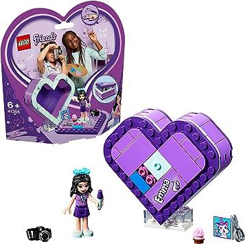 LEGO Friends - Caja Corazón de Emma, divertido set de construcción coleccionable para guardar tus cosas (41355): LEGO: Amazon.es: Juguetes y juegos