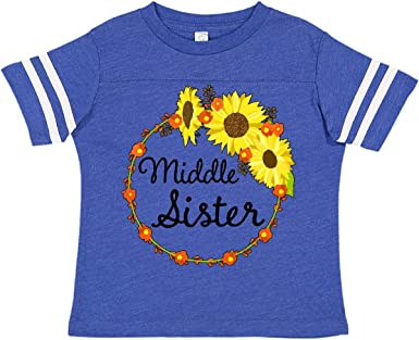 inktastic Middle Sister Announcement Toddler T-Shirt