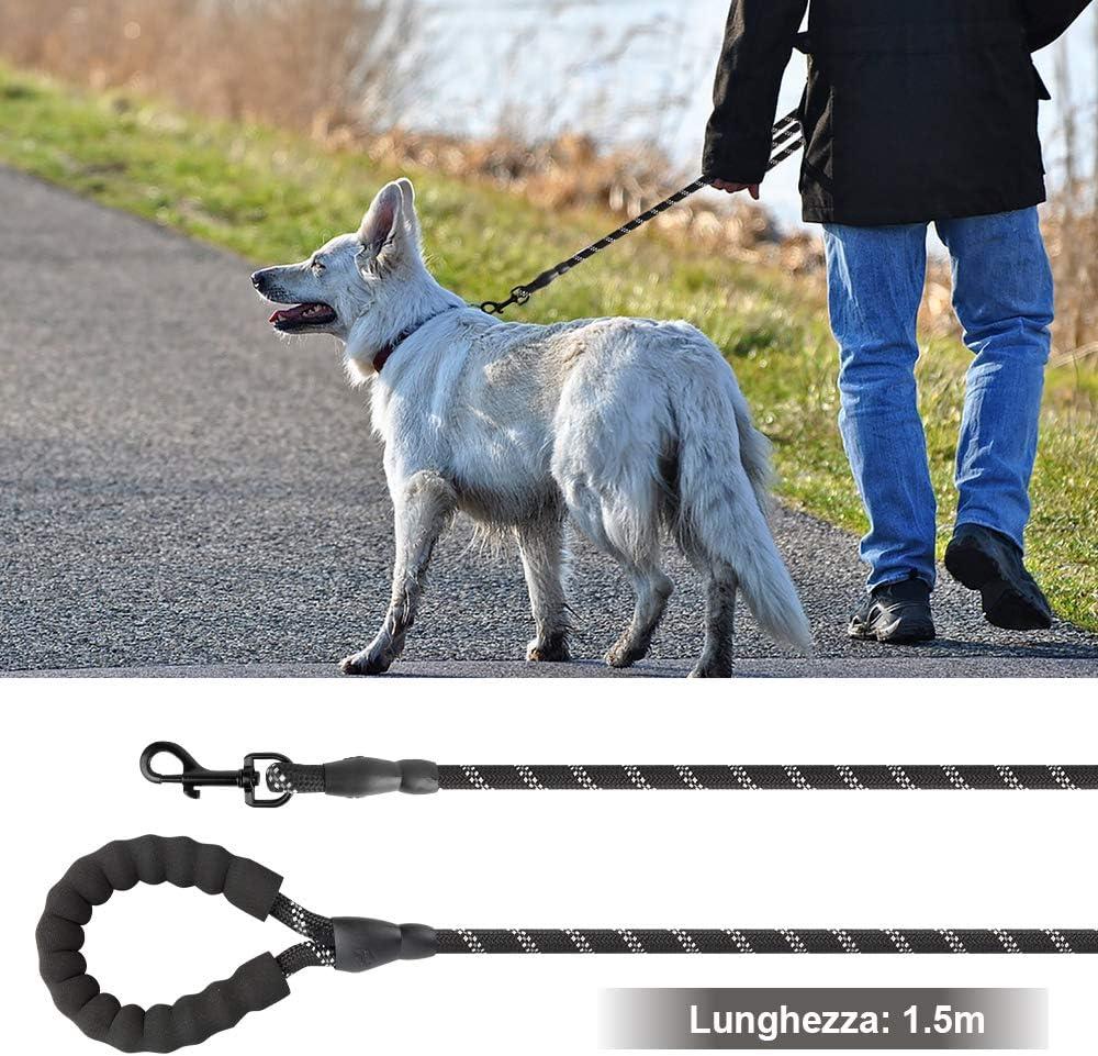 ziidoo Correa para Perro, Correa para Perro Fuerte de 1,5 m con ...