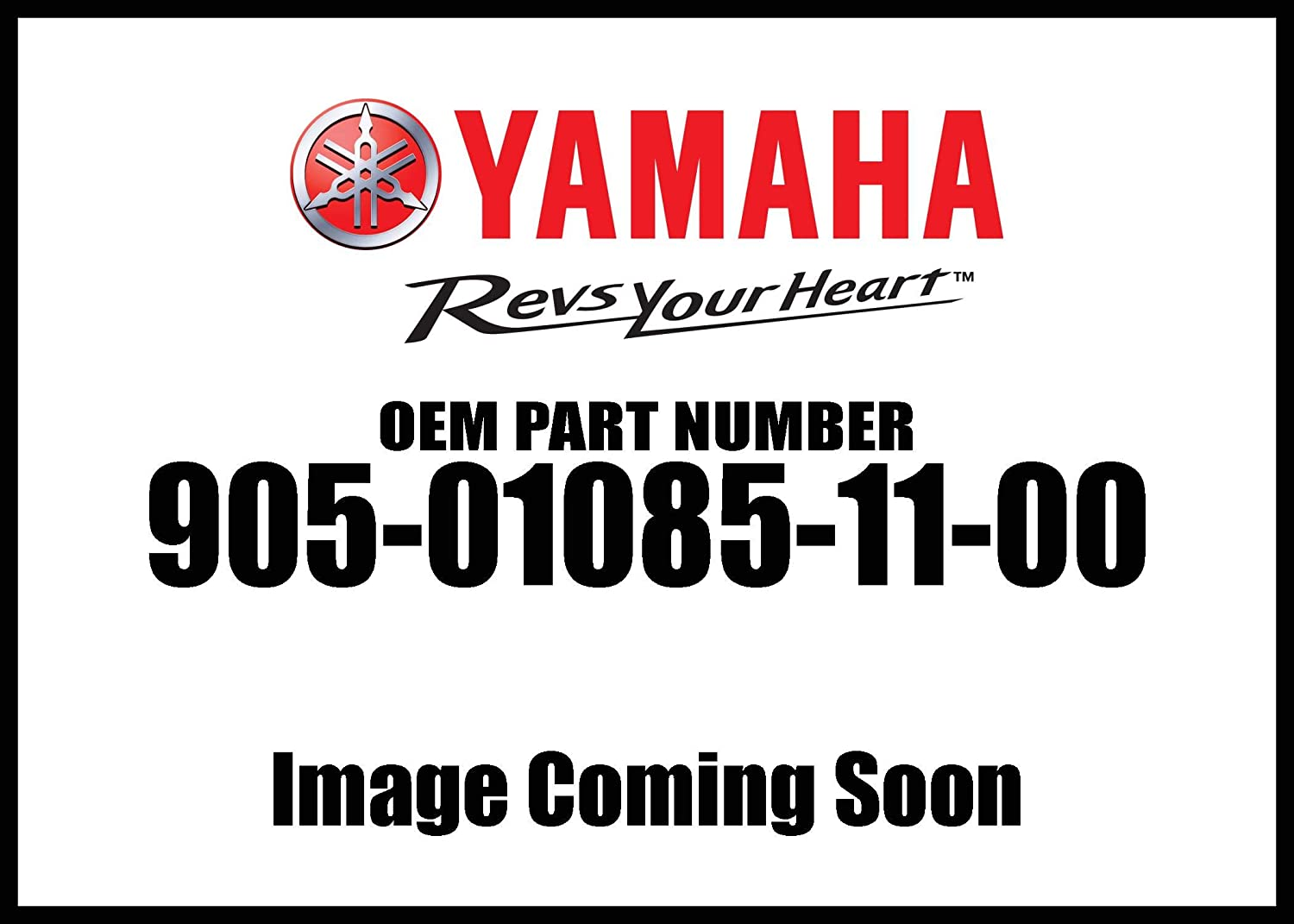 Yamaha 90501-08511-00 Spring, Compression; 905010851100 Made by Yamaha