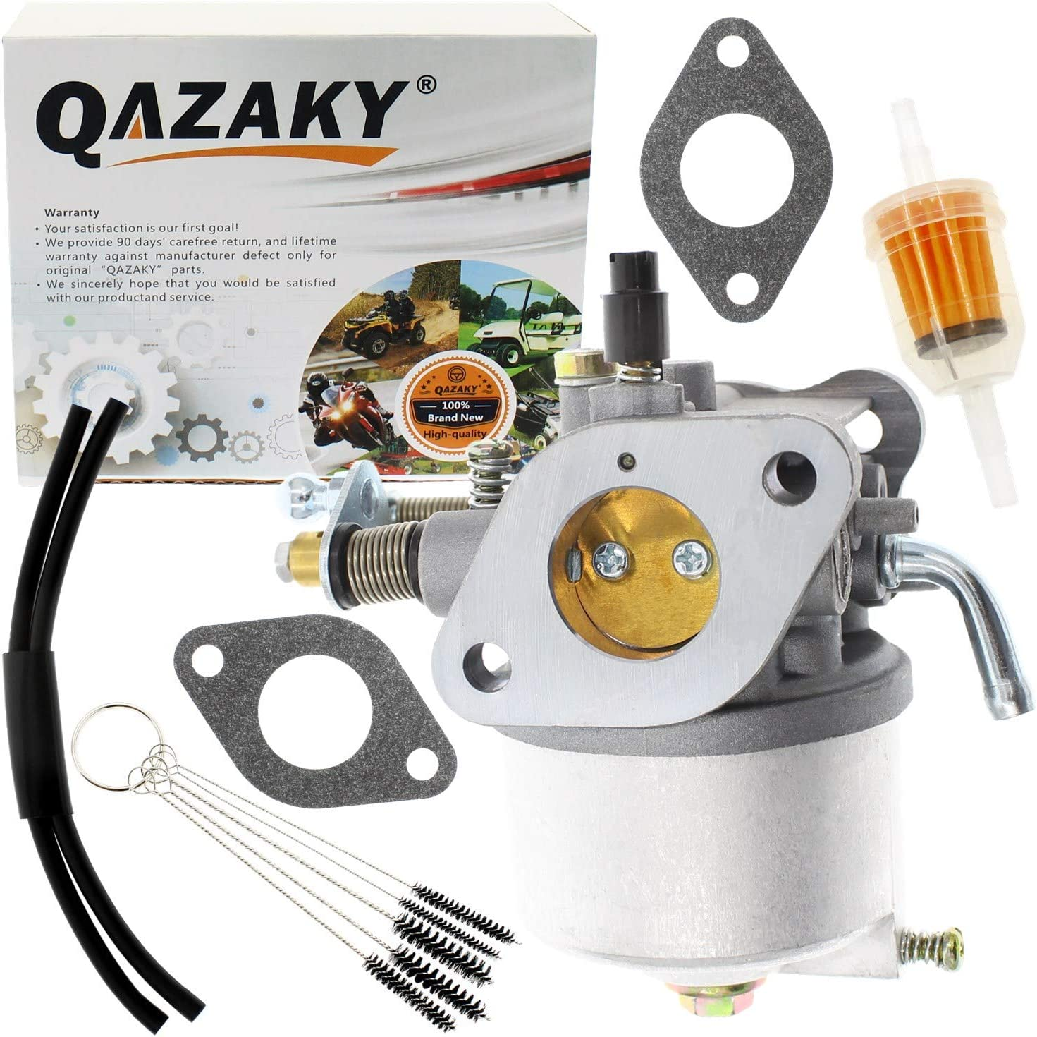 QAZAKY Carburetor Replacement for EZGO Golf Cart 295cc Gas 4-Cycle on