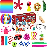 Advent Calendar 2021 Toy Set, Abenow Fidget Sensory Toys Set, 24Pcs Holiday Christmas Countdown Calendar Sensory Fidget…