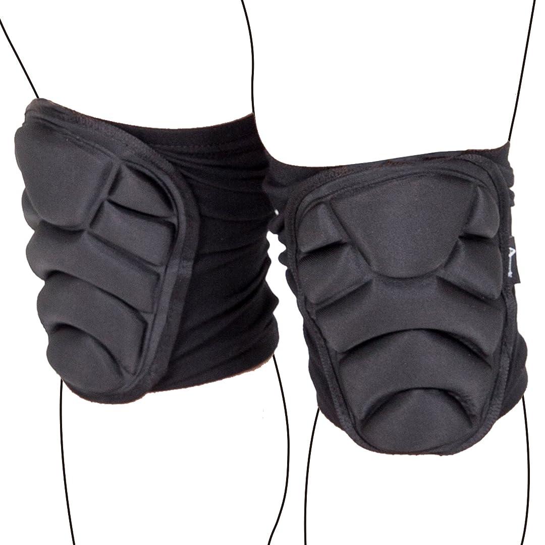 変換明らかにする無礼に【Ludus Felix】G3 G2 プロテクター サバゲー 膝 肘 プロテクトパッド エルボーパッド コンバットパンツ用 サバゲー (ひじ グレー)