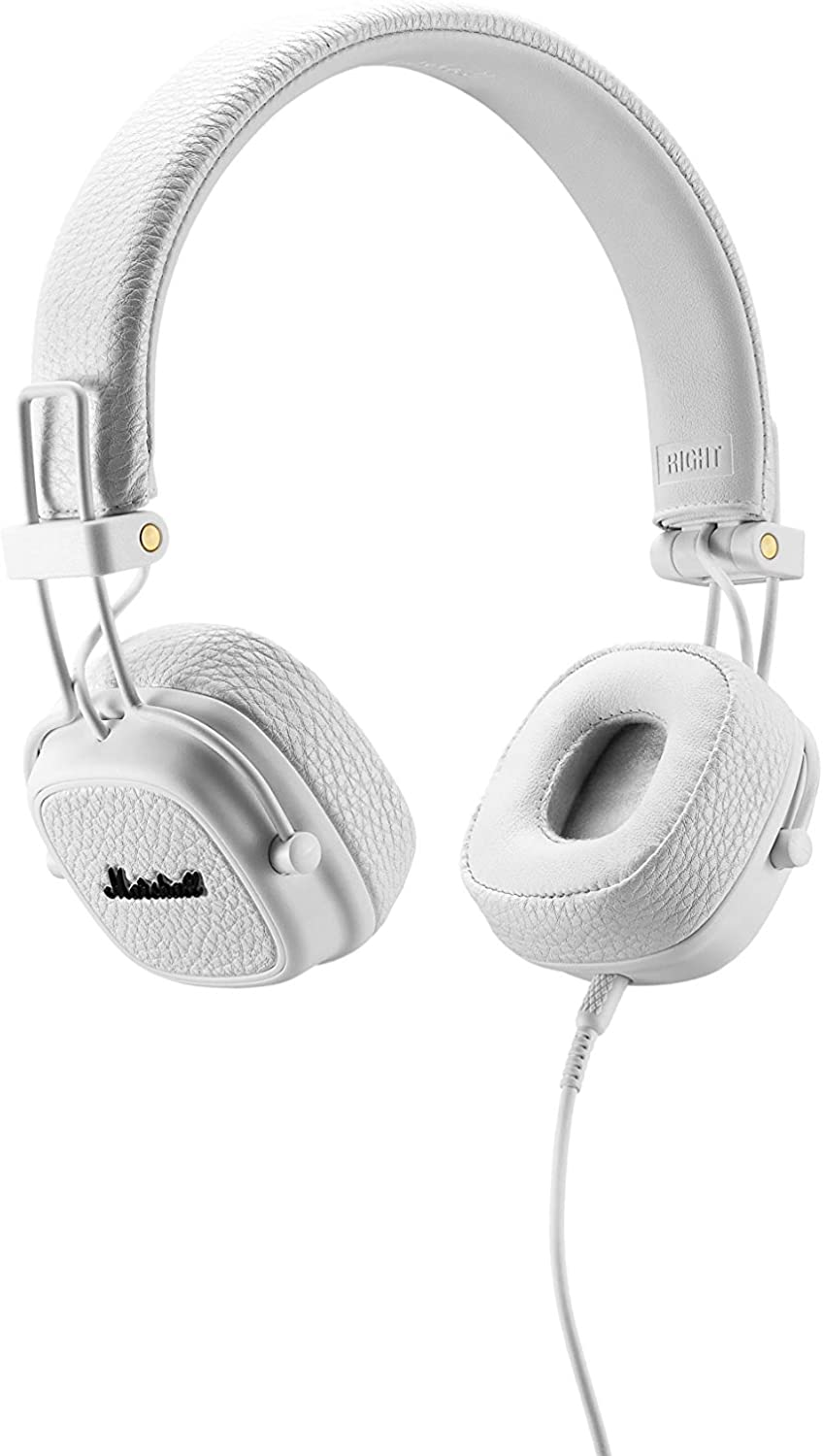 Marshall Major II White Cuffie On Ear Con Remote Control