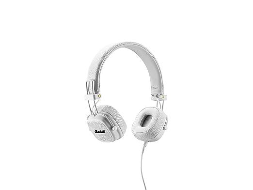Marshall Major II - Auriculares con diadema (Dynamic, conector de 3.5 mm, 99 dB, 20 Hz–20 kHz) , color blanco
