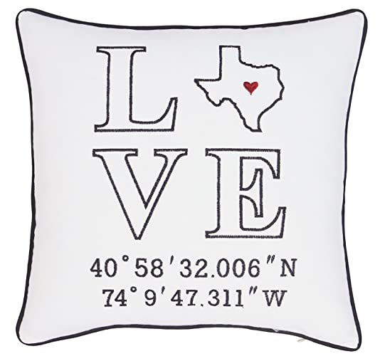 amazon com yugtex pillowcases embroidered cushion cover love
