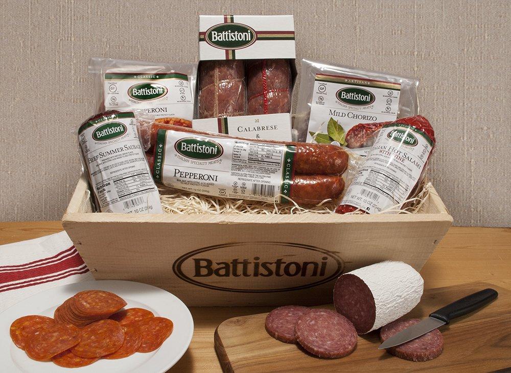 Gourmet Italian Meat Lovers Gift Basket by Battistoni (Image #2)